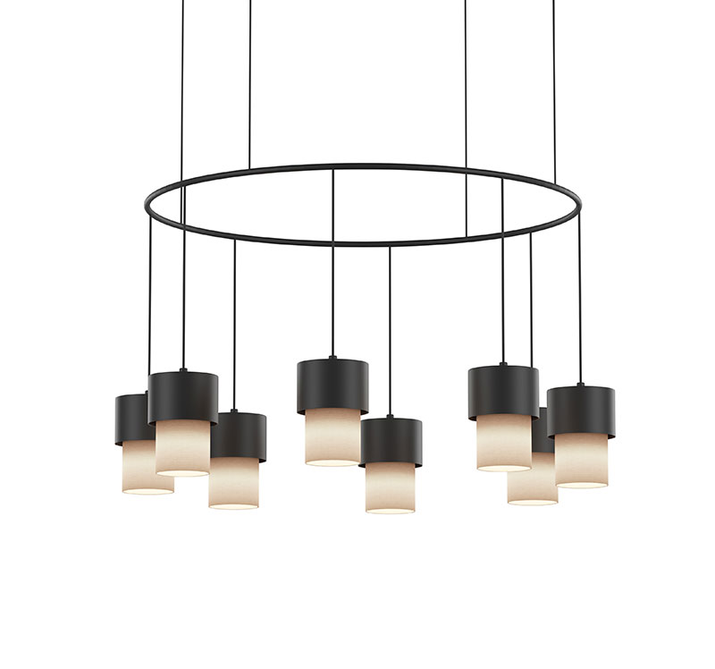 Lámpara Kan chandelier